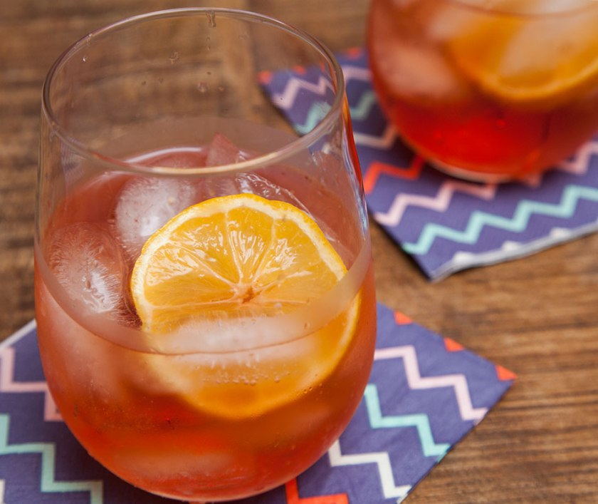 This cocktail is a simple, elegant way to greet your guests, and get them hungry.