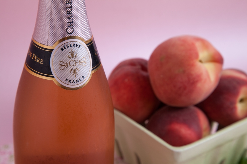 I'm using a Charles de Fere dry Rose, but use you're go-to sparkling.